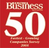 Fastest Growing Company 2005